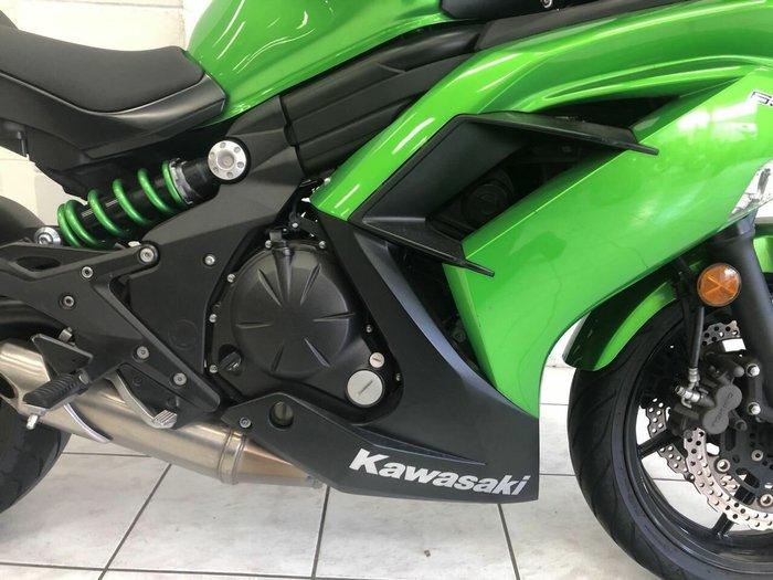 2015 Kawasaki NINJA 650L Green