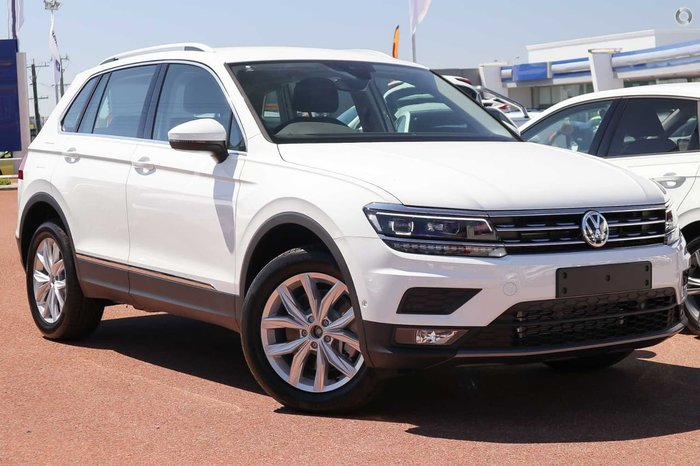 2019 Volkswagen Tiguan 132TSI Comfortline 5N MY19 White