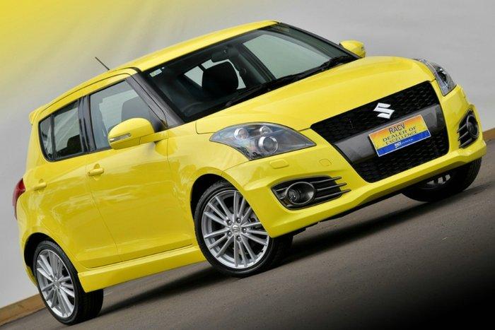 2016 Suzuki Swift Sport FZ MY15 YELLOW