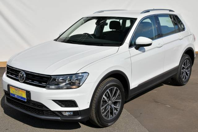 2017 Volkswagen Tiguan 132TSI Comfortline 5N MY18 Four Wheel Drive PURE WHITE