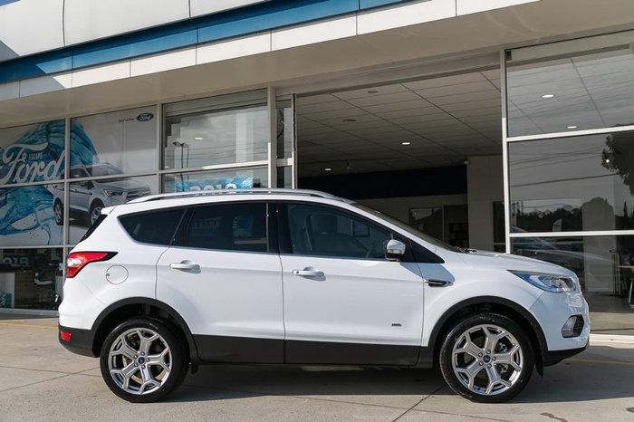 2018 Ford Escape Titanium ZG MY18.75 4X4 On Demand White