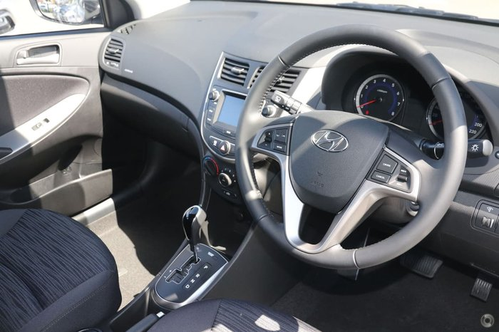 2019 Hyundai Accent Sport RB6 MY18 White