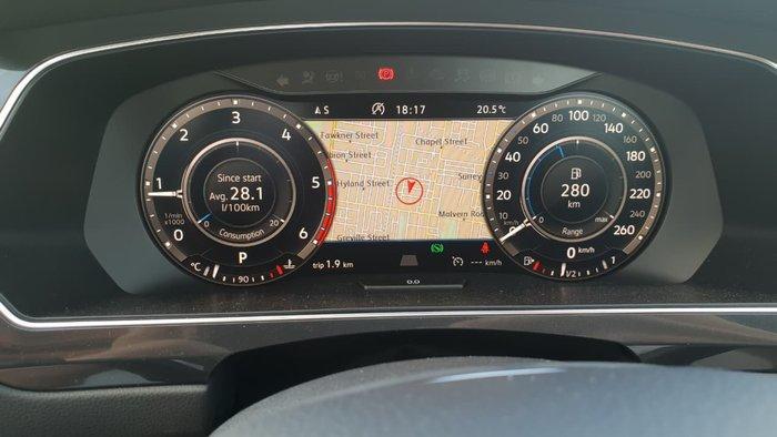 2018 Volkswagen Tiguan 110TDI Comfortline Allspace 5N MY18 Black
