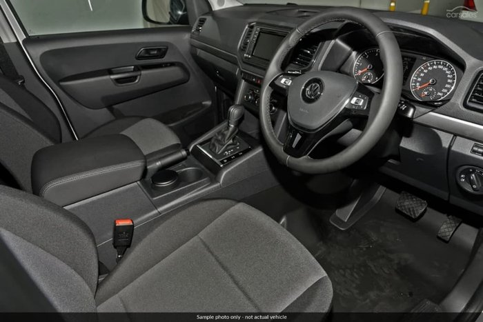 2018 Volkswagen Amarok TDI550 Highline 2H MY19 4X4 Constant White