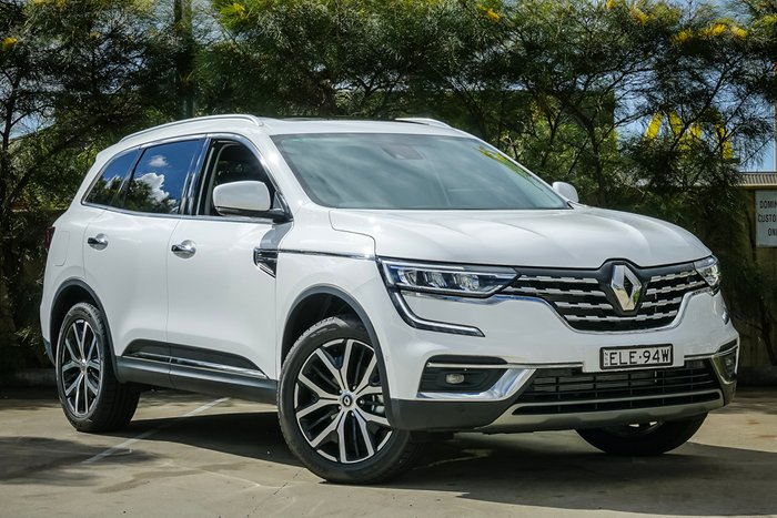 2021 RENAULT KOLEOS Intens HZG MY21 Intens Wagon 5dr X-tronic 1sp 4WD 2.5i SOLID WHITE