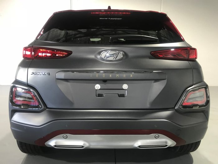 2019 Hyundai Kona Iron Man Edition OS.2 MY19 4X4 On Demand Grey