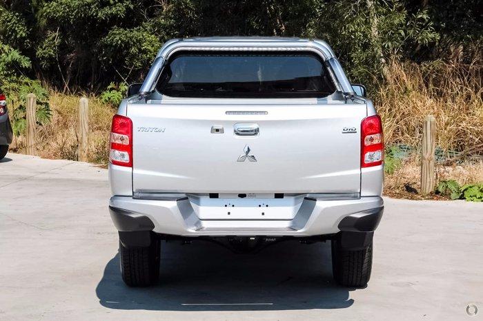 2018 Mitsubishi Triton GLS MQ MY18 4X4 Dual Range Silver