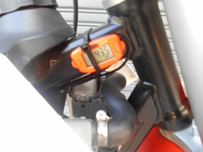2017 Ktm 50 SX Orange