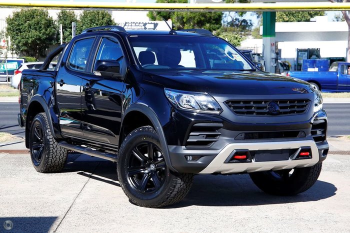 2018 Holden Special Vehicles Colorado SportsCat R RG MY19 4X4 Dual Range Mineral Black