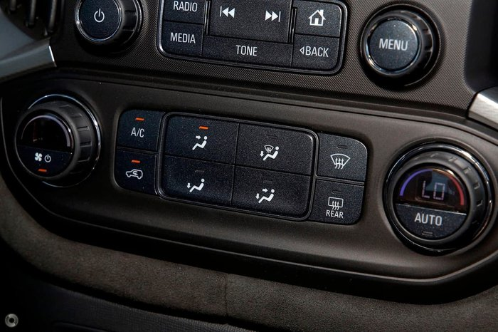 2018 Holden Special Vehicles Colorado SportsCat R RG MY19 4X4 Dual Range Mineral Black