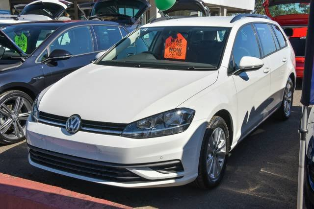2017 Volkswagen Golf 110TSI Trendline 7.5 MY18 PURE WHITE