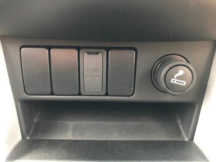 2018 Isuzu D-MAX 4x4 LS-M Crew Cab Ute Magnetic Red Mica