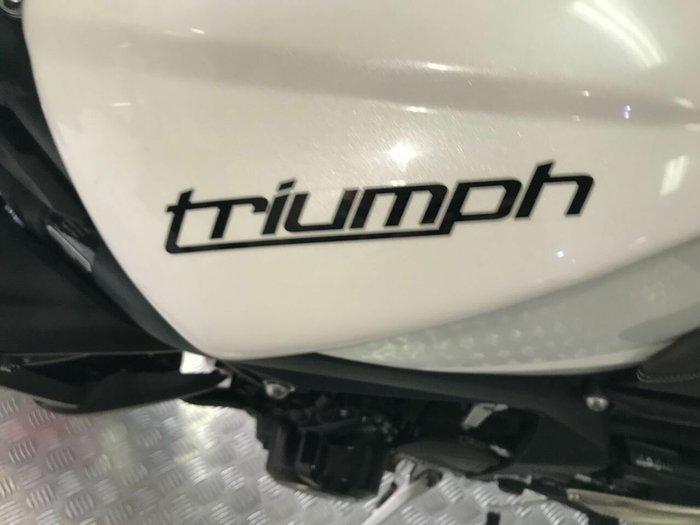 2012 Triumph STREET TRIPLE R White