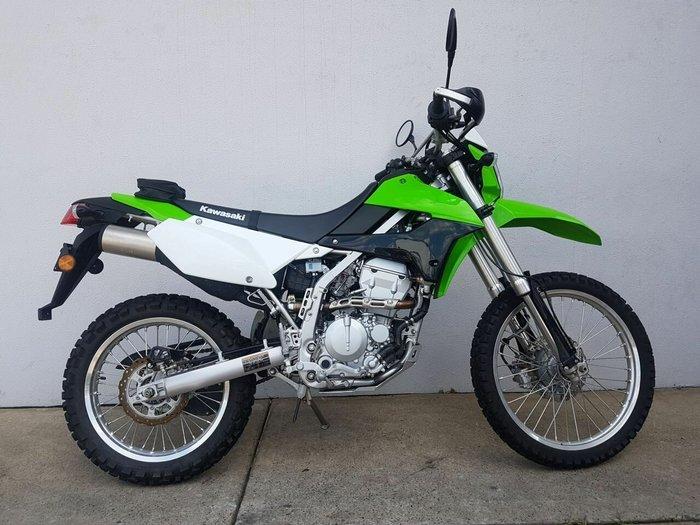 2018 Kawasaki KLX250S Green