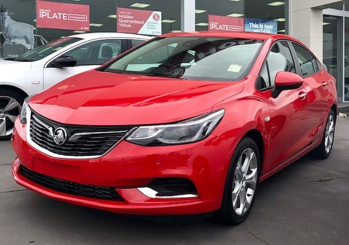 2018 Holden Astra LT BL MY18 Red