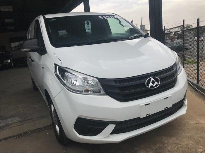 2018 LDV G10 SV7C BLANC WHITE