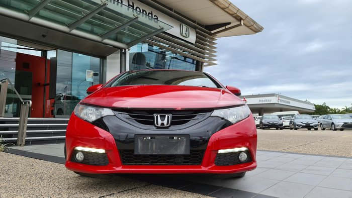 2014 Honda Civic VTi-LN 9th Gen MY14 RED