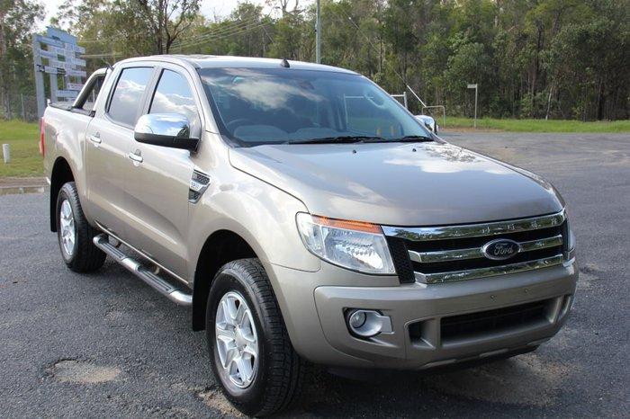 2014 Ford Ranger XLT PX 4X4 Dual Range Gold