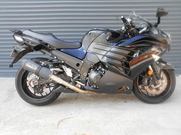 2012 Kawasaki Ninja Zx 14 Zx14 R Blue For Sale In Maroochydore