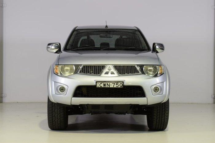 2013 Mitsubishi Triton GLX-R MN MY14 4X4 Dual Range Silver