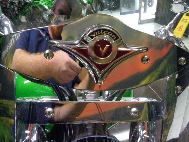 2008 Kawasaki VULCAN CLASSIC 2000 LT Green