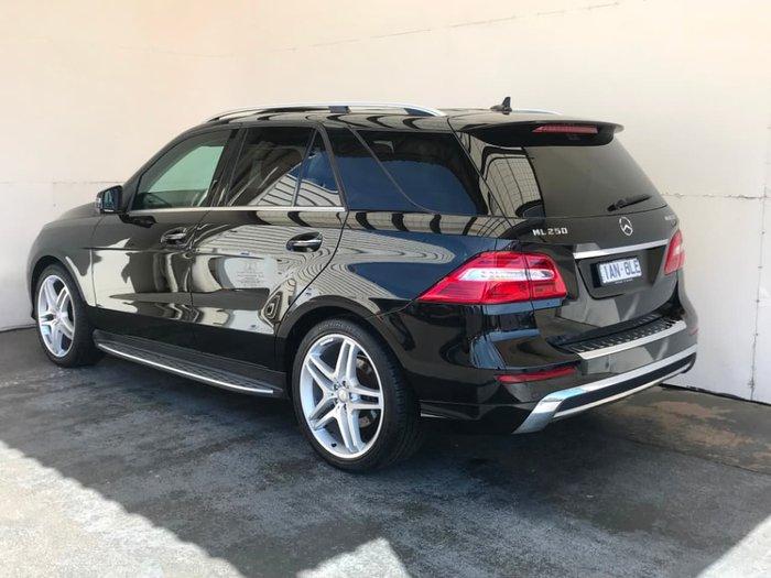 2013 Mercedes-Benz ML250 BlueTEC W166 4X4 Constant Black