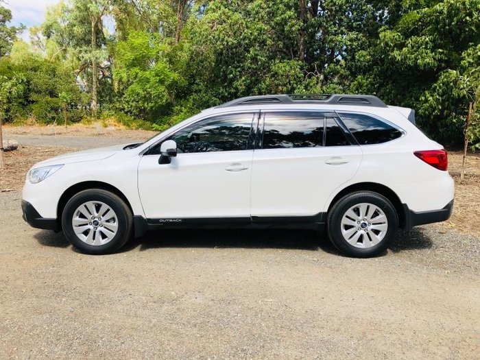 2016 SUBARU OUTBACK 2.0D MY15 CRYSTAL WHITE