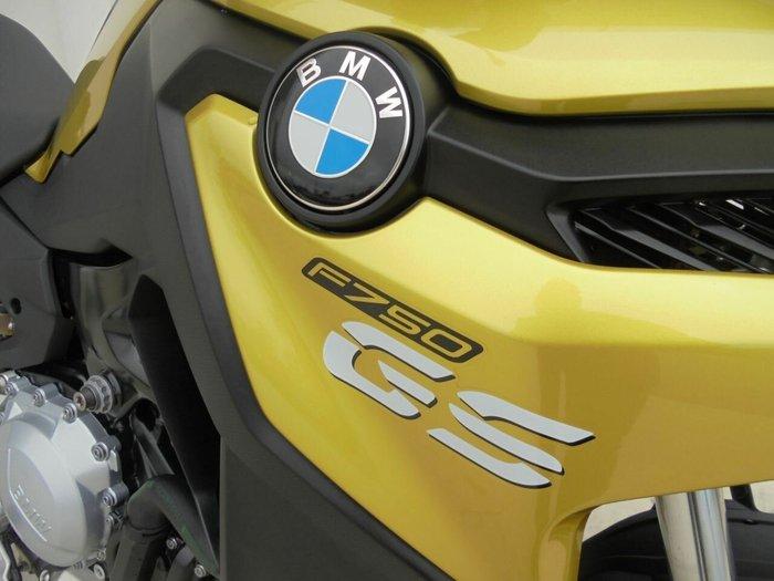 0 Bmw 2018 BMW 750CC F 750 GS YELLOW