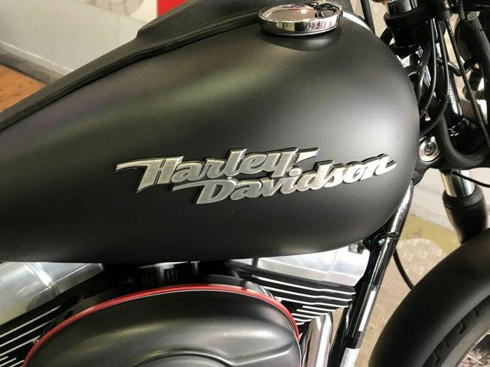 2007 HARLEY-DAVIDSON FXDB STREET BOB Black