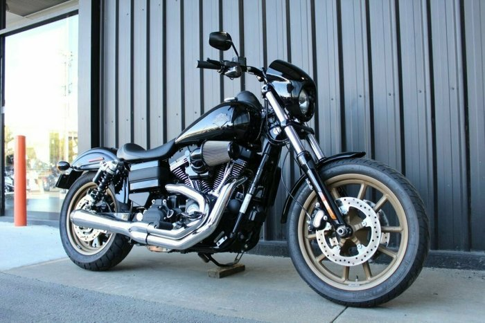 0 Harley-davidson 2016 HARLEY DAVIDSON 1801CC FXDLS LOW RIDER S Black