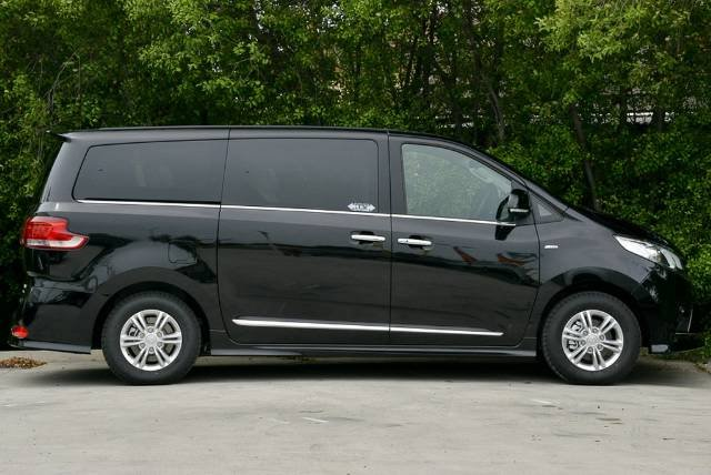 2018 LDV G10 Executive SV7A OBSIDIAN BLACK