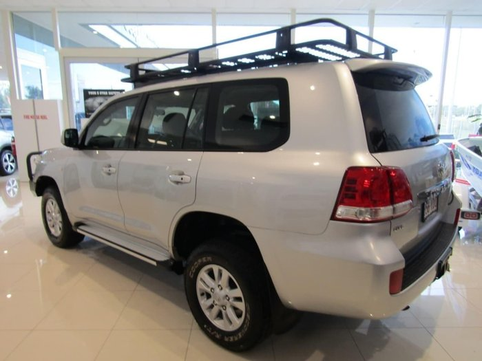 2007 Toyota Landcruiser GXL HDJ100R 4X4 Constant Silver