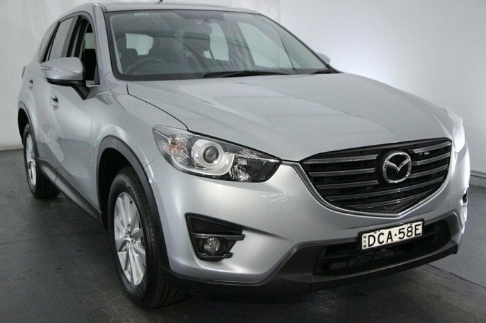 2015 Mazda CX-5 Maxx Sport KE Series 2 4X4 On Demand Silver