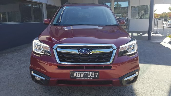 2016 Subaru Forester 2.5i-S S4 MY16 Four Wheel Drive Red