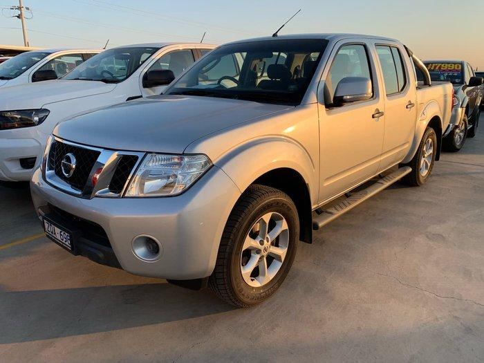 2013 Nissan Navara ST D40 Series 6 4X4 Silver