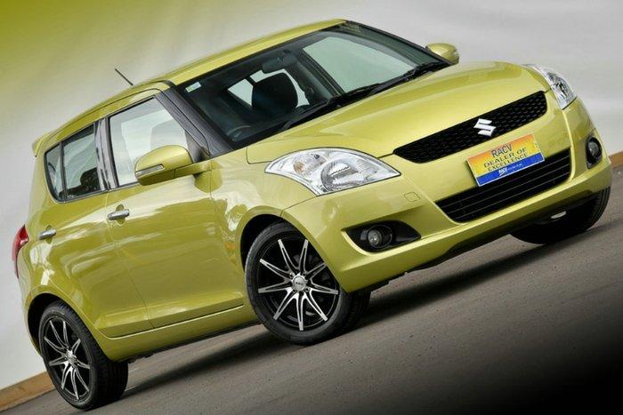 2013 Suzuki Swift GLX FZ MY13 CITRUS YELLOW