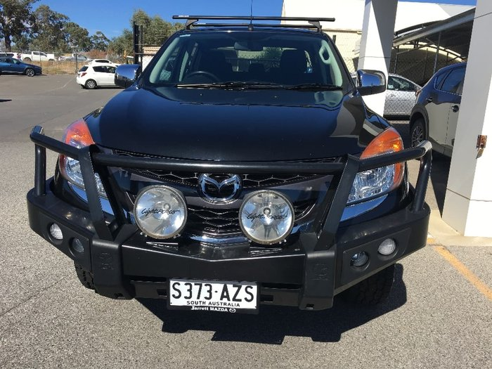 2013 Mazda BT-50 XTR UP 4X4 Dual Range Black