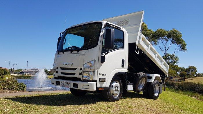 2019 Isuzu NLR 55-150 TRI-TIPPER ISUZU WHITE