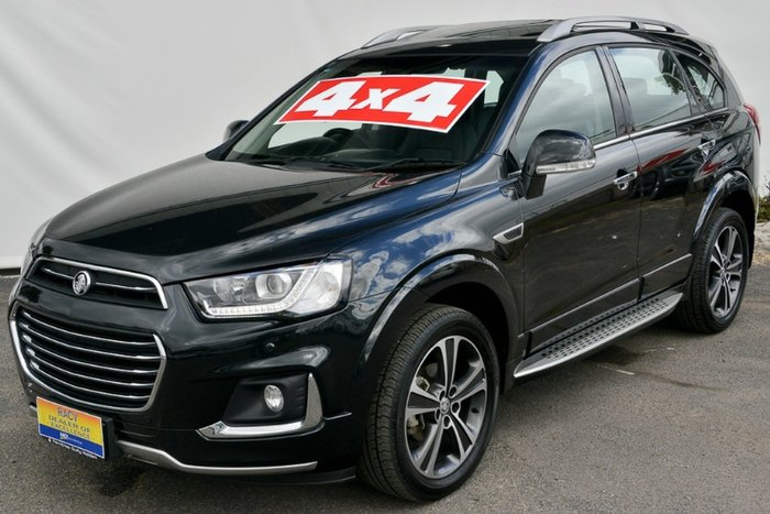 2018 Holden Captiva LTZ CG MY18 4X4 On Demand MINERAL BLACK