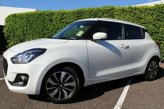 2019 Suzuki Swift GLX Turbo AZ PURE WHITE PEARL