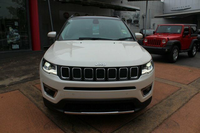 2018 Jeep Compass Limited M6 MY18 4X4 On Demand VOCAL WHITE