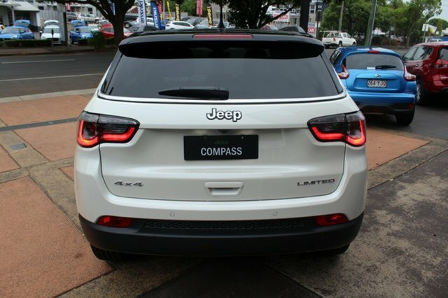 2018 CHRYSLER COMPASS Limited M6 LIMITED 2.0L DIESEL 9SPD AUTO 2018MY VOCAL WHITE