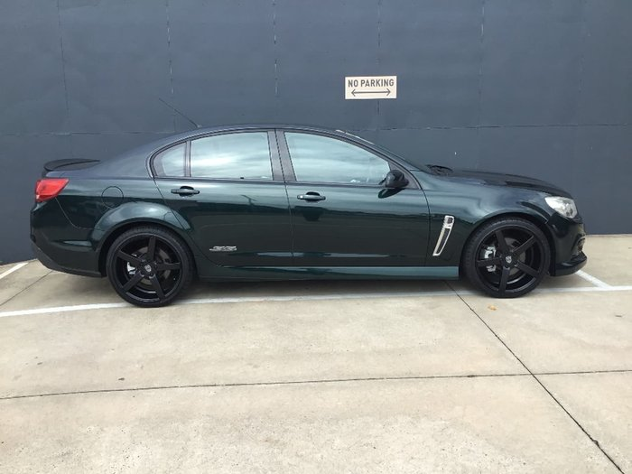 2013 Holden Commodore SS VF MY14 Green