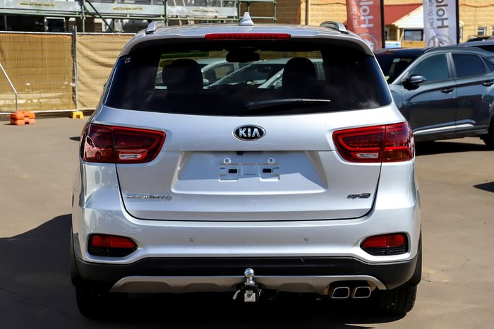2018 Kia Sorento GT-Line UM MY19 4X4 On Demand Silver