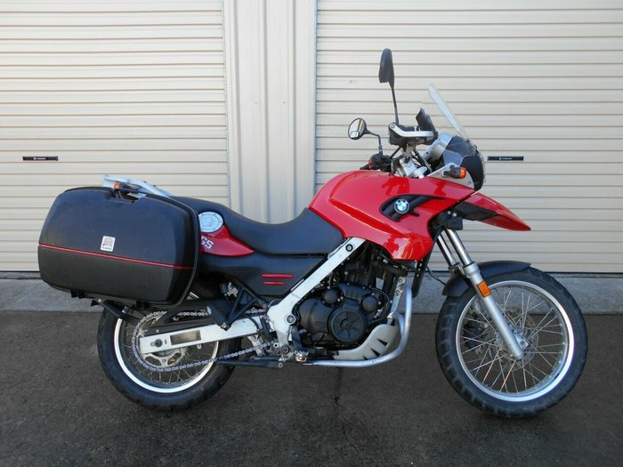 2010 BMW G 650 GS Red