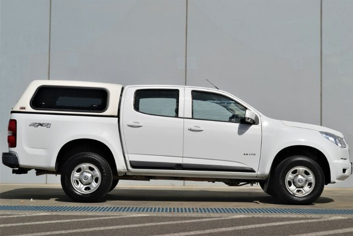 2013 Holden Colorado LX RG MY13 4X4 Dual Range SUMMIT WHITE
