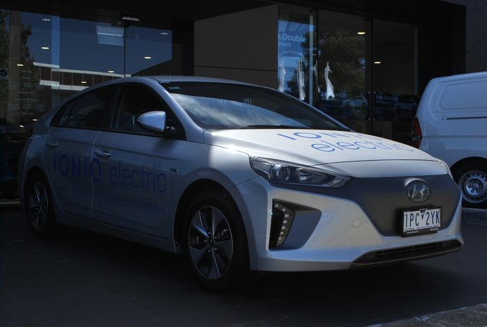2018 Hyundai IONIQ electric Elite AE.2 MY19 Silver