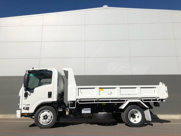 2019 Isuzu NQR 87-190 FACTORY TIPPER WHITE