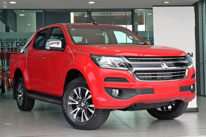 2019 Holden Colorado LTZ RG MY19 4X4 Dual Range Red