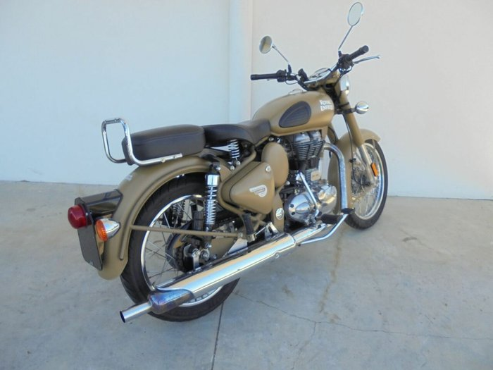 2015 ENFIELD BULLET 500 (CLASSIC OR STD) FAWN